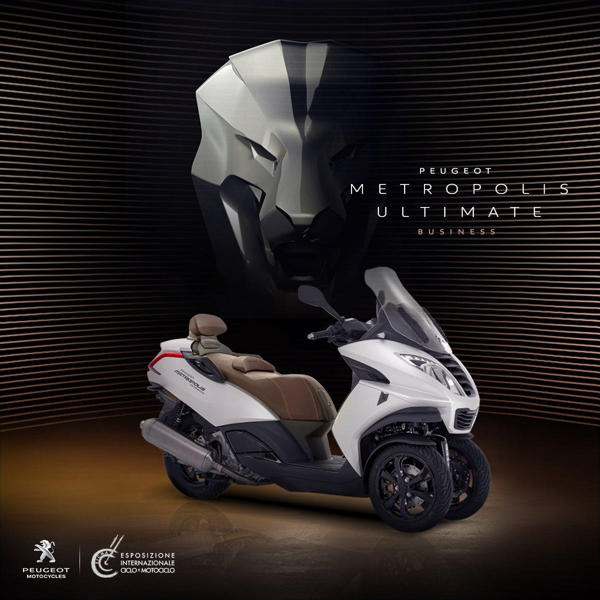Peugeot Metropolis Ultimate Business