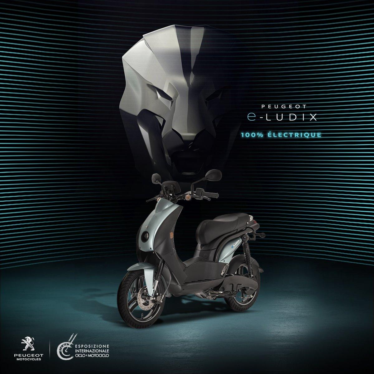 Peugeot E-Ludix 100% Electrique